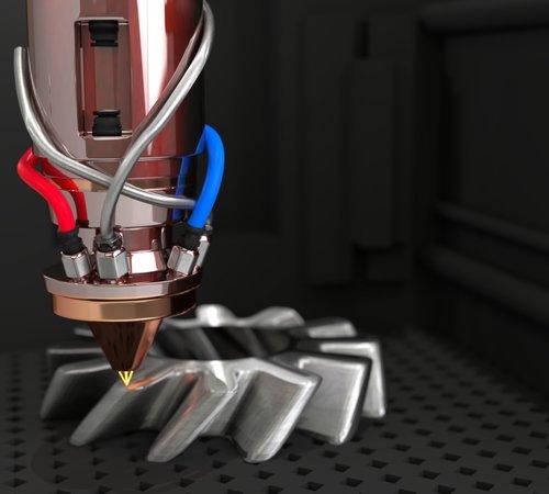 laser  3d  cogwheel