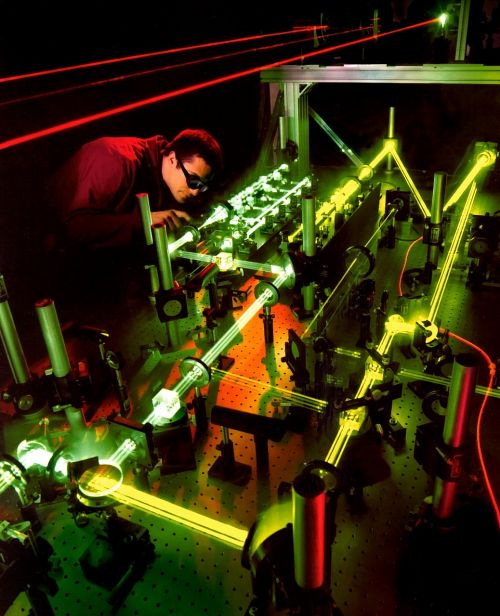 laser laser experiment light beam