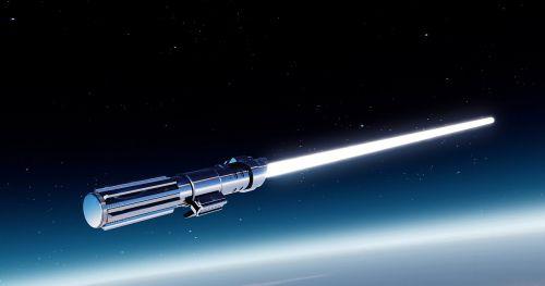 laser sword lightsaber jedi