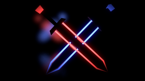 laser sword neon weapons