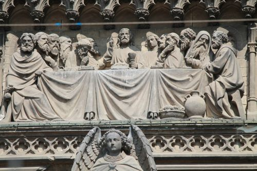 last supper cologne cathedral portal