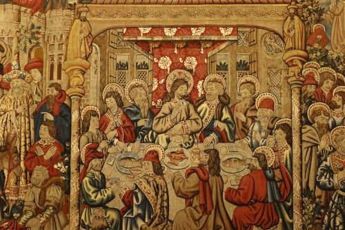 last supper painting frescoes