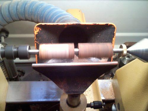 lathe woodturning pen making
