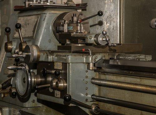 lathe  workshop  mechanical engineering