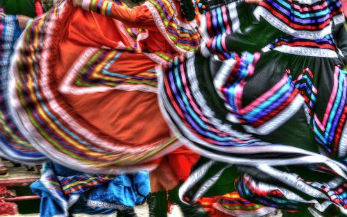 Latin Dance Skirts