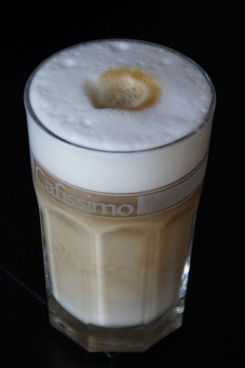 latte macchiato coffee glass