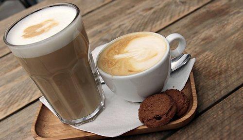 latte macchiato  cappuccino  coffee