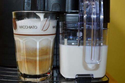 latte macchiato coffee tea