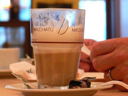 latte macchiato coffee cafe
