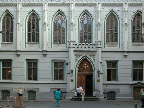 latvia riga building