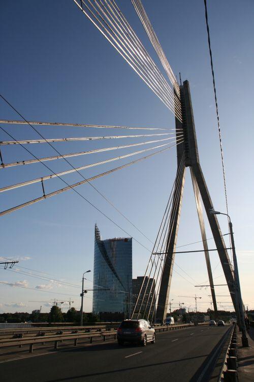 latvia riga bridge