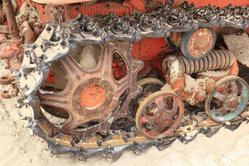 latvia jurmalciems bulldozer