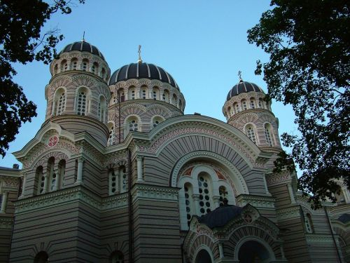 latvia riga russian orthodox church