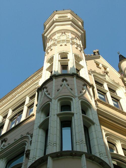 latvia riga old town building
