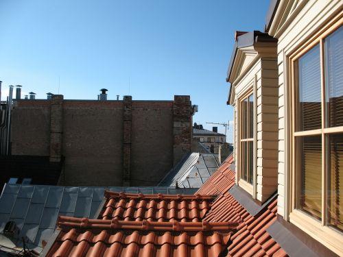 latvia riga roof