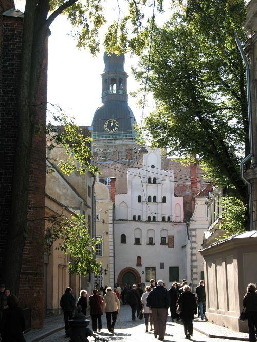 latvia riga street