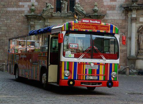 latvia riga bus