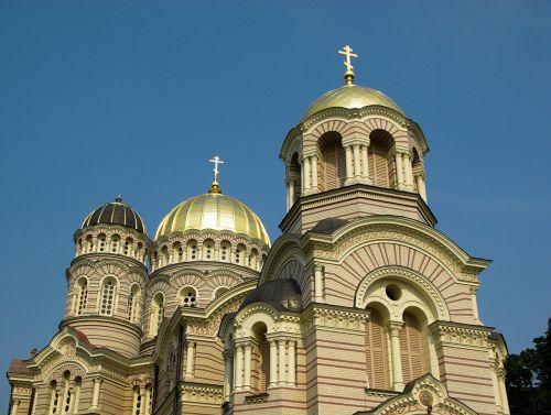 latvia riga orthodox church