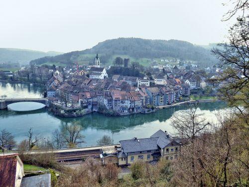 laufenburg high rhine germany