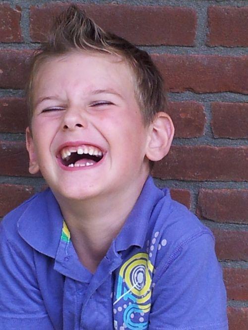 child boy laugh
