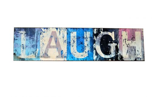 laugh sign expression text
