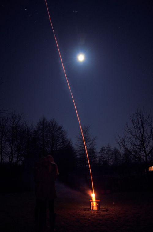 launch rocket silvester