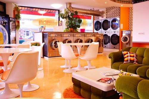 launderette  drum roll  wash