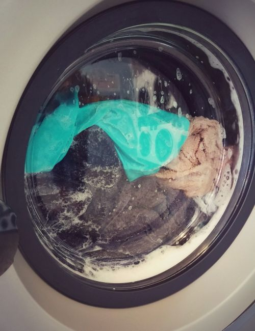 laundromat washing cycle