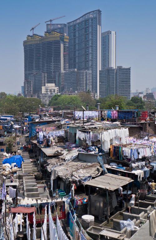 laundry slum india