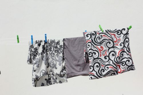 laundry clothes line dry