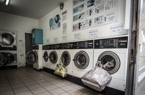 laundry  laundromat  washer