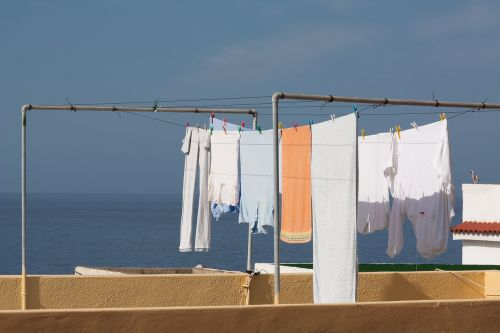 laundry dry clothes line