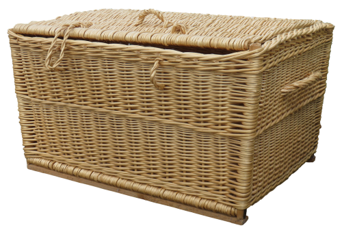 laundry basket wicker basket basket ware