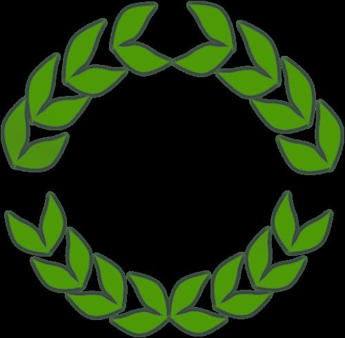 laurel wreath laurels leaves