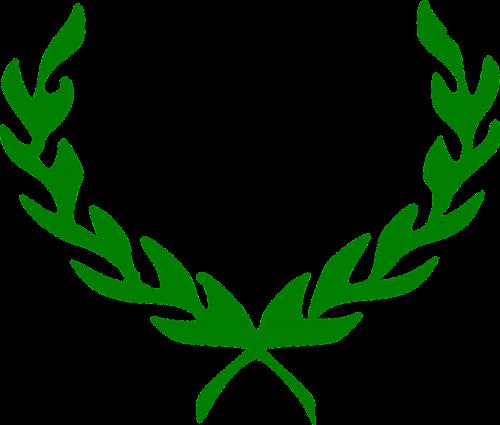 laurel wreath honors laurels