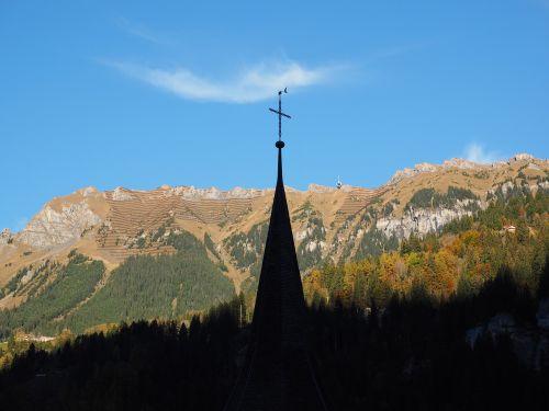 lauterbrunnen switzerland church