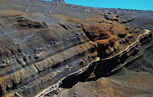 lava,lava rock,Kanarų salos,spalvinga,nacionalinis parkas teide,Tenerifė,el teide