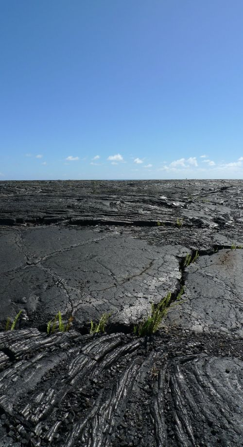 lava hawaii nature
