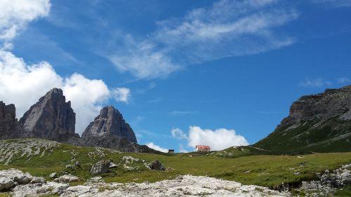 lavaredo dolomites mountain