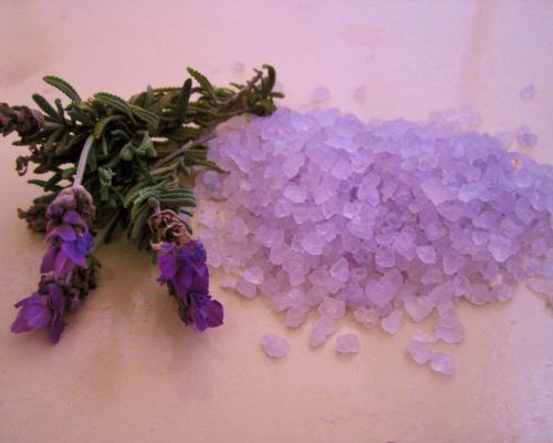 Lavender Bath Crystals