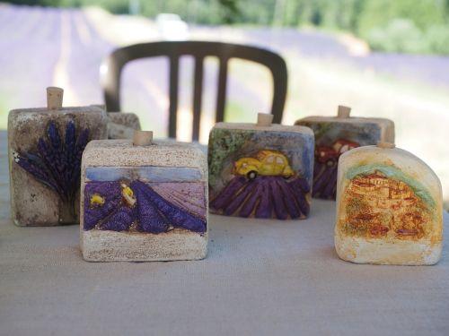 lavender field stone memory