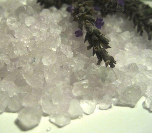 Lavender Salt And Lavender