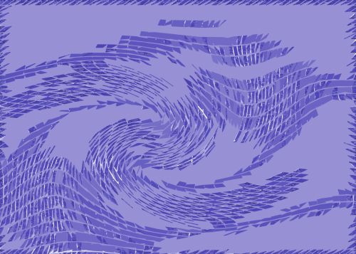 Lavender Swirl Pattern