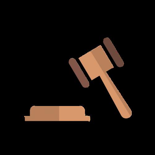 law justice - concept auction