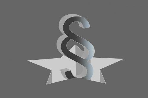 law symbol right