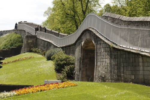 lawn sky bridge