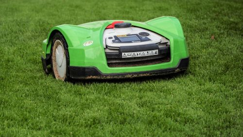 lawn mower rush robot mower