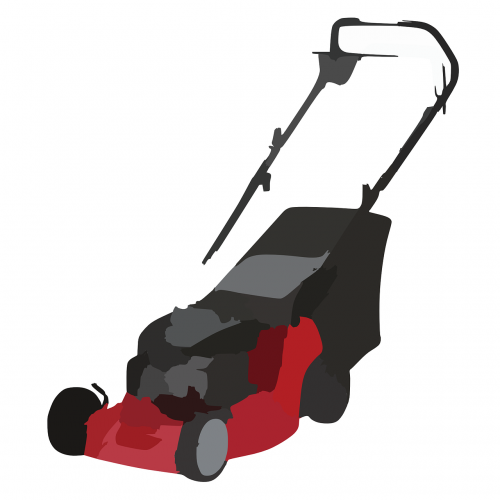 lawn mower motorized grass