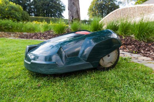 lawn mower robot grass