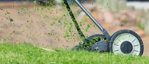 lawn mower hand lawn mower lawn mowing